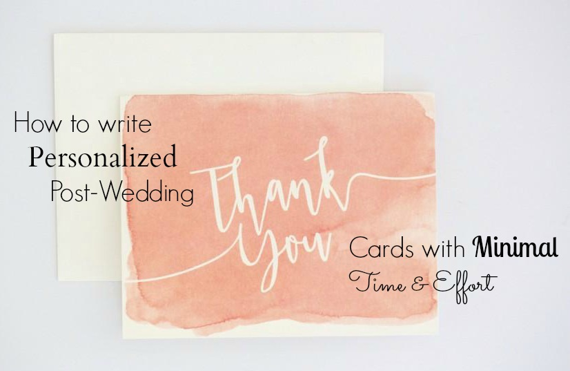 tip 1 hand write your cards