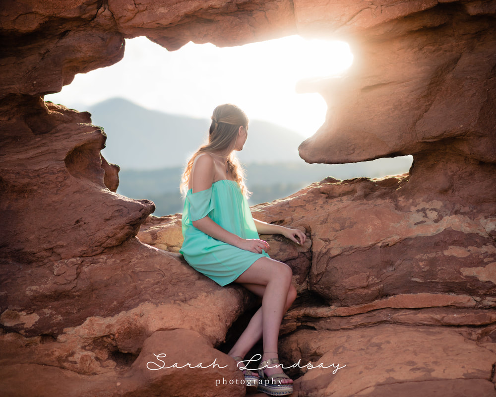 Senior Photographer in Denver | Garden of the Gods