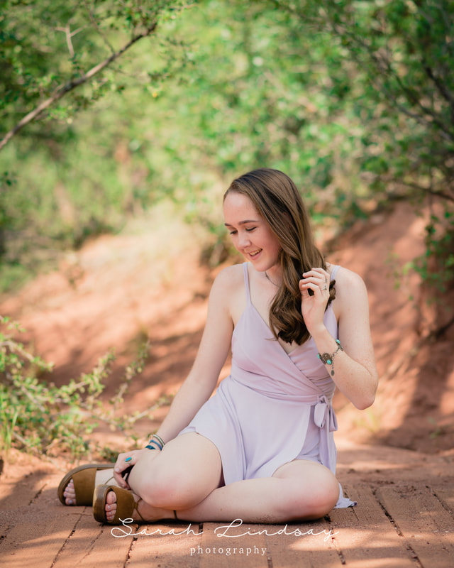 Senior Portraits in Denver | Garden of the Gods
