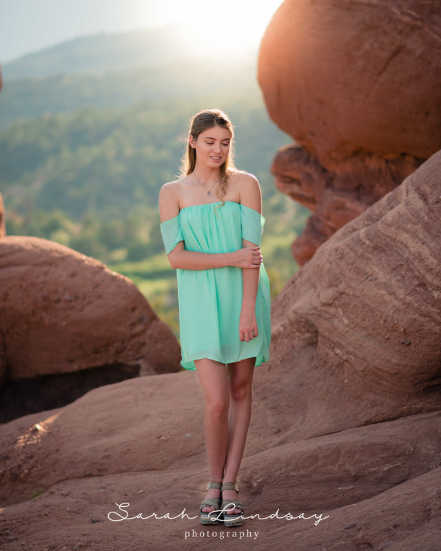 Denver Senior Photography | Garden of the Gods