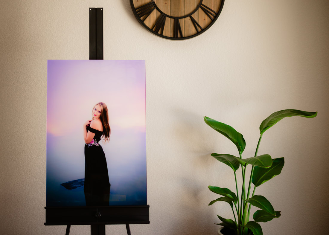 Modern, sleek acrylic prints to hang in your home.